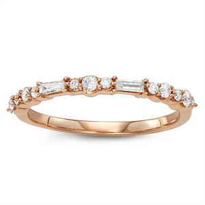 Simply Vera Vera Wang 14k Gold 1/3 Carat T.W. Diamond Anniversary Ring