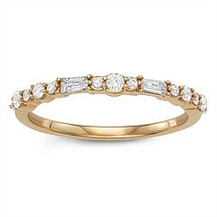 Simply Vera Vera Wang 14k Gold 1/3 Carat T.W. Diamond Anniversary Ring