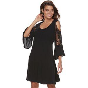 8c634ec6fde6 Sale.  41.99. Regular.  60.00. Women s Nina Leonard Cold-Shoulder Crochet  Dress. Sale.  48.99. Regular