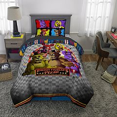 Five Nights At Freddy's Pizza Security Bedding Set