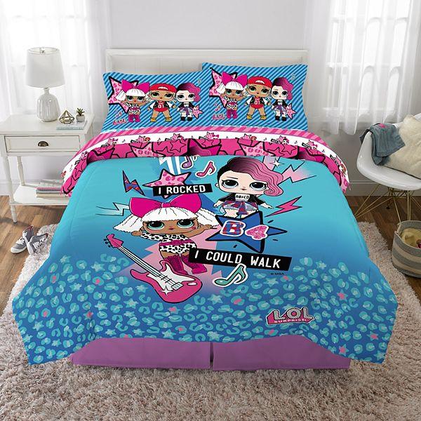 L O L Surprise Born Rockers Bedding Set