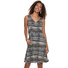 Women's Nina Leonard Print Swing Dress
