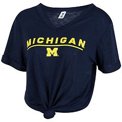 Women's Michigan Wolverines Juke Top