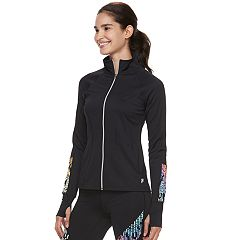 Women's FILA SPORT® Reflective Thumb Hole Jacket