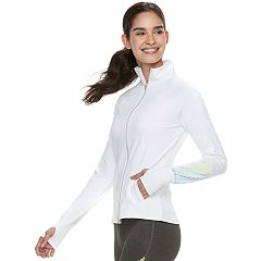 Women's FILA SPORT® Reflective Thumb Hole Jacket