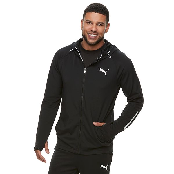 Men's PUMA Tec Sports Zip-Up Hoodie