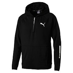 Men's PUMA Tec Sports Half-Zip Hoodie