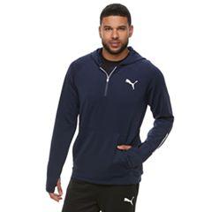 Men's PUMA Tec Sports Half-Zip Hoodie