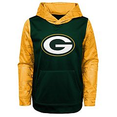 Boys 4-18 Green Bay Packers Performance Fleece Hoodie e8a59a68e