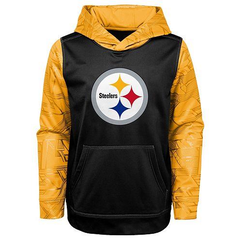 brand new b35f4 40aff Boys 4-18 Pittsburgh Steelers Performance Fleece Hoodie