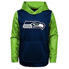 Boys 4-18 Seattle Seahawks Performance Fleece Hoodie