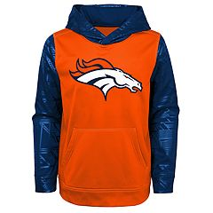 Boys 4-18 Denver Broncos Performance Fleece Hoodie