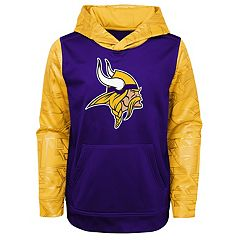Boys 4-18 Minnesota Vikings Performance Fleece Hoodie