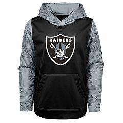Boys 4-18 Oakland Raiders Performance Fleece Hoodie