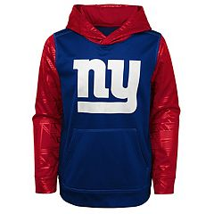 Boys 8-20 New York Giants Performance Fleece Hoodie