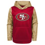 Boys 4-18 San Francisco 49ers Performance Fleece Hoodie