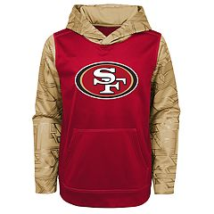 Boys 8-20 San Francisco 49ers Performance Fleece Hoodie