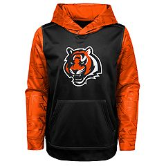 Boys 8-20 Cincinnati Bengals Performance Fleece Hoodie