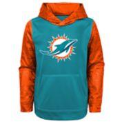 Boys 8-20 Miami Dolphins Performance Fleece Hoodie