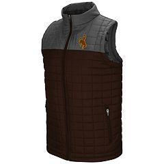 Men's Wyoming Cowboys Amplitude Puffer Vest