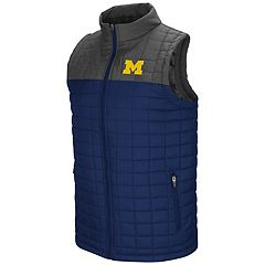Men's Michigan Wolverines Amplitude Puffer Vest