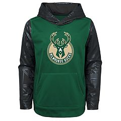 Boys 4-18 Milwaukee Bucks Performance Hoodie