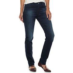 Women's Apt. 9® High Waist Straight-Leg Jeans