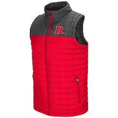 Men's Rutgers Scarlet Knights Amplitude Puffer Vest