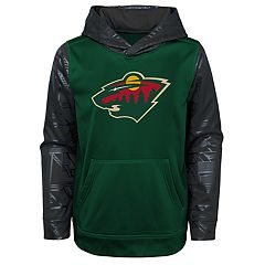 Boys 4-18 Minnesota Wild Performance Fleece Hoodie