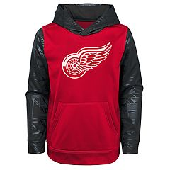 Boys 8-20 Detroit Red Wings Performance Fleece Hoodie
