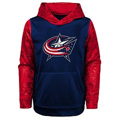 Boys 4-18 Columbus Blue Jackets Performance Fleece Hoodie