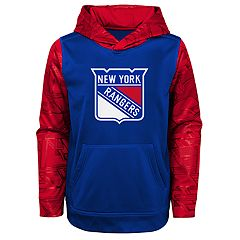 5d322d1e936 Boys 4-18 New York Rangers Performance Fleece Hoodie