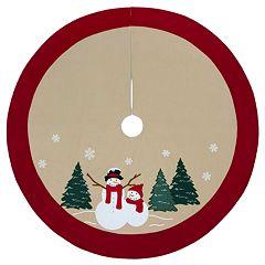 St. Nicholas Square® 48-in. Snowman Christmas Tree Skirt