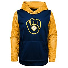 Boys 8-20 Milwaukee Brewers Hoodie