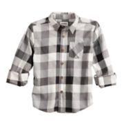 Boys 4-12 SONOMA Goods for Life? Plaid Button Down Shirt