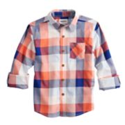 Boys 4-12 SONOMA Goods for Life? Plaid Button Down Shirt