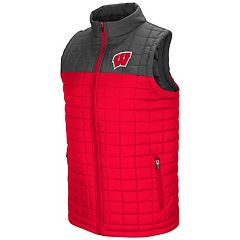 Men's Wisconsin Badgers Amplitude Puffer Vest