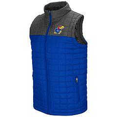 Men's Kansas Jayhawks Amplitude Puffer Vest