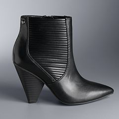 Simply Vera Vera Wang Gadwall Women's High Heel Ankle Boots