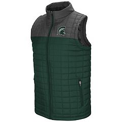 Men's Michigan State Spartans Amplitude Puffer Vest