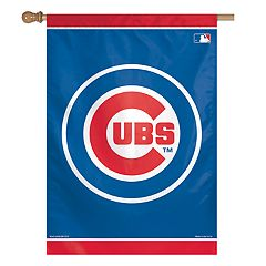 Chicago Cubs Double-Sided Vertical Banner Flag