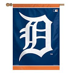 Detroit Tigers Double-Sided Vertical Banner Flag