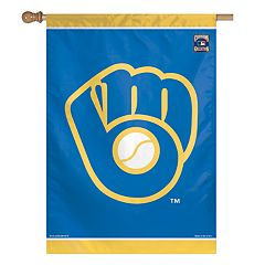 Milwaukee Brewers Double-Sided Vertical Banner Flag