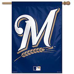 Milwaukee Brewers Vertical Banner Flag