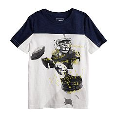 Boys 4-12 SONOMA Goods for Life™ Sporty Pieced Graphic Tee
