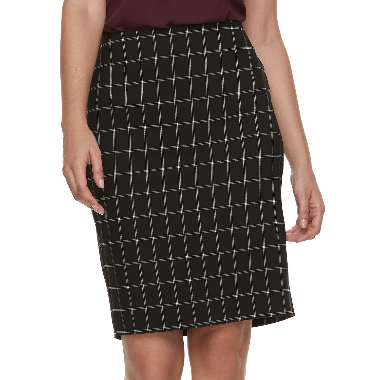 Women\u0027s ELLE™ Pull-On Pencil Skirt