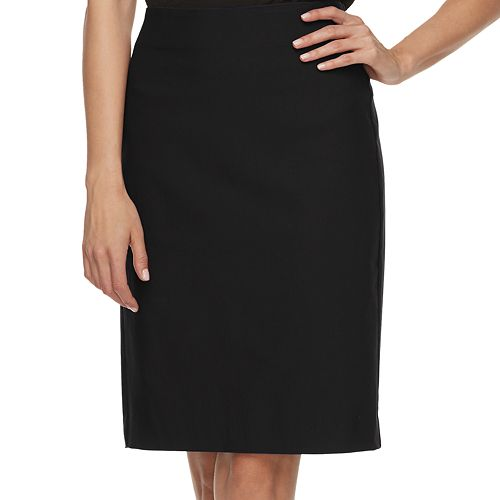 c7f34df5f552a Women s ELLE™ Pull-On Pencil Skirt