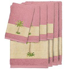 Linum Home Textiles 8-piece Colton Embellished Bath Towel Set