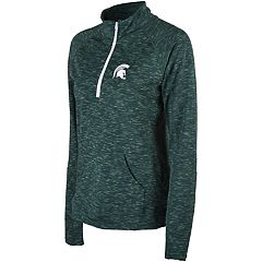 Women's Michigan State Spartans Touchdown Pullover