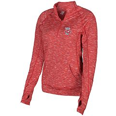 Plus Size Wisconsin Badgers Touchdown Pullover